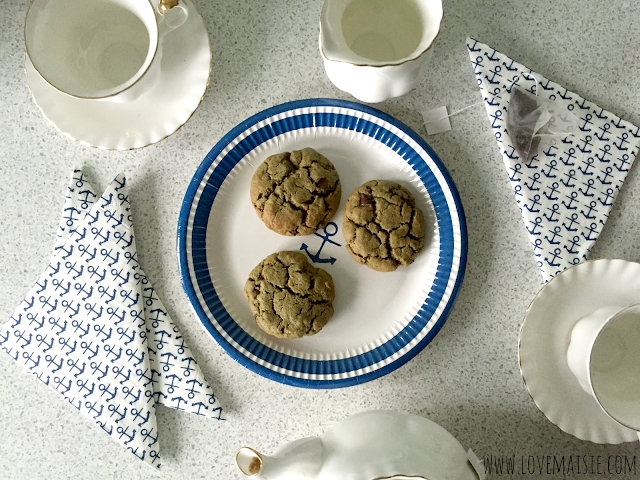 Vegan Ginger + Pumpkin Seed Butter Cookies! | Love, Maisie with Indigo Herbs
