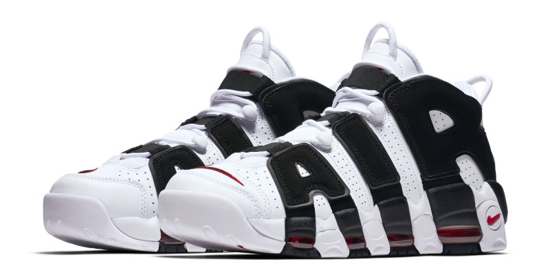 wholesale dealer 75fca db46c Nike Air More Uptempo White Black   Analykix