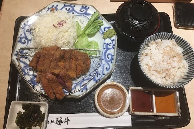 [餐廳]台北大同區 京都勝牛京站店-炸牛排感覺普普通通。