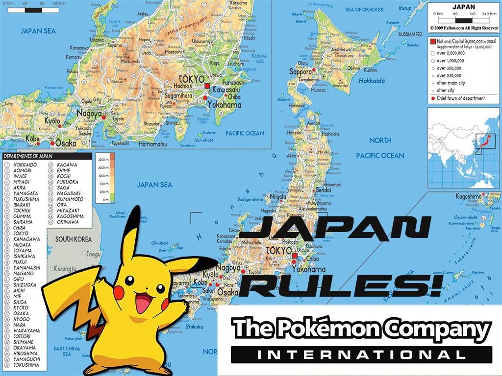 Pokemon Us Map - curbalert.info