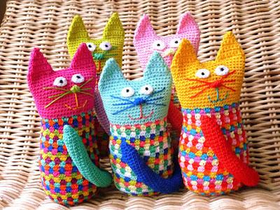 amigurumi crochet cats