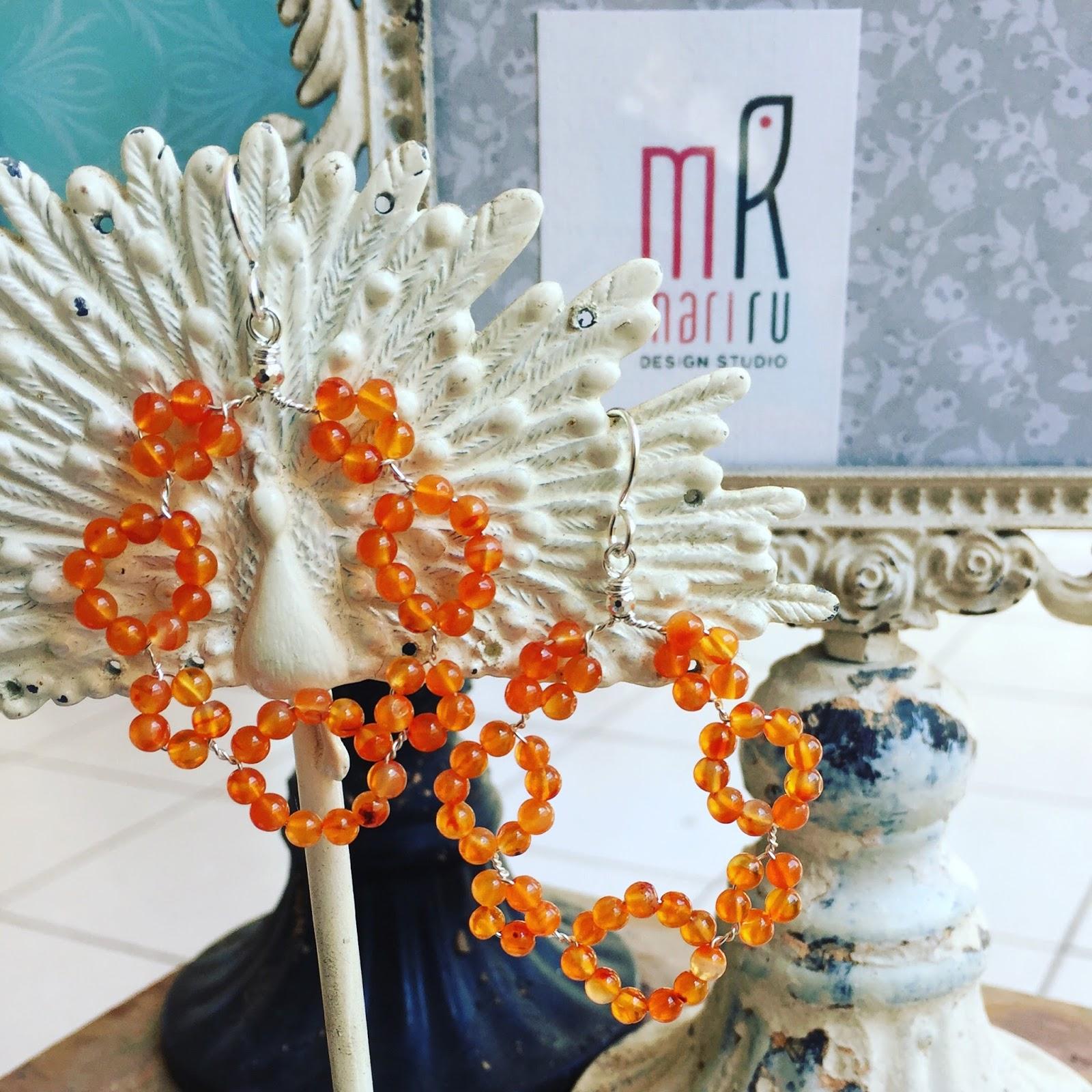 MariRu Design Studio - Artisan Made Jewelry: Gem Lace Wire