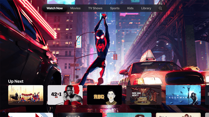 The Apple TV Plus service will be a feature in their TV App