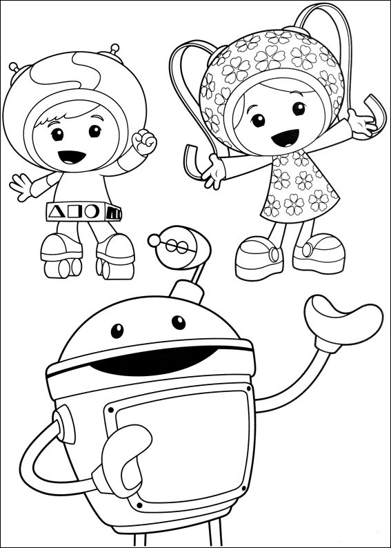 Fun Coloring Pages Umizoomi Coloring Pages