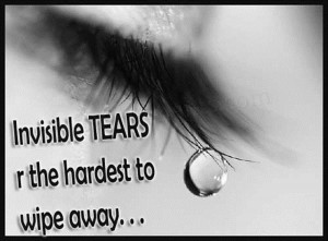 invisible tears sad whatsapp dp and profile pic