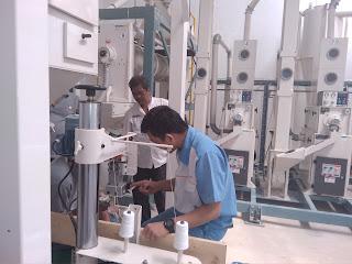Mesin Penggilingan Bantuan KEMENDES di Karawang Mulai Beroperasi