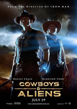 Cowboys y Aliens online latino