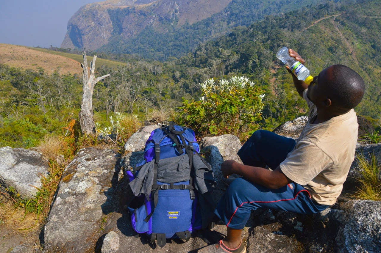Mulanje Mountain Trek hike Climbing Mount Sapitwa breakfast