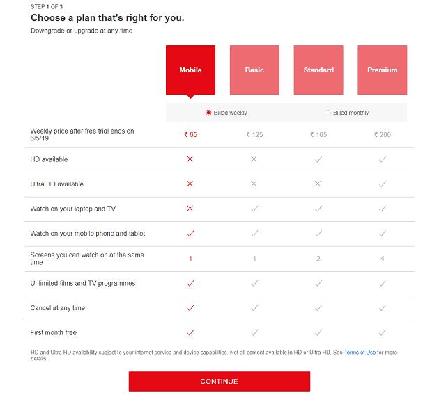 نتفليكس تختبر خطة جديدة رخيصة بثمن 0.95$ مخصصه للهواتف الذكية