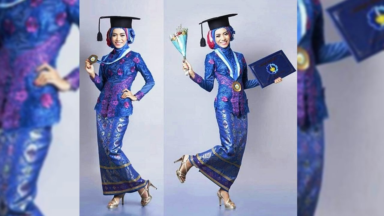 Inspirasi Kebaya Wisuda Muslimah Terbaru Model Kekinian Simpel Dan Elegan