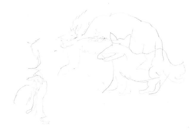 Traum von einem Werwolf