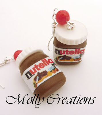 Nutella Jars Earrings