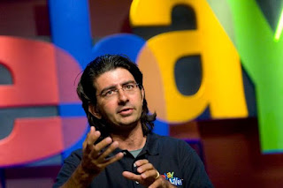Pierre Morad Omidyar behind the giant eBay