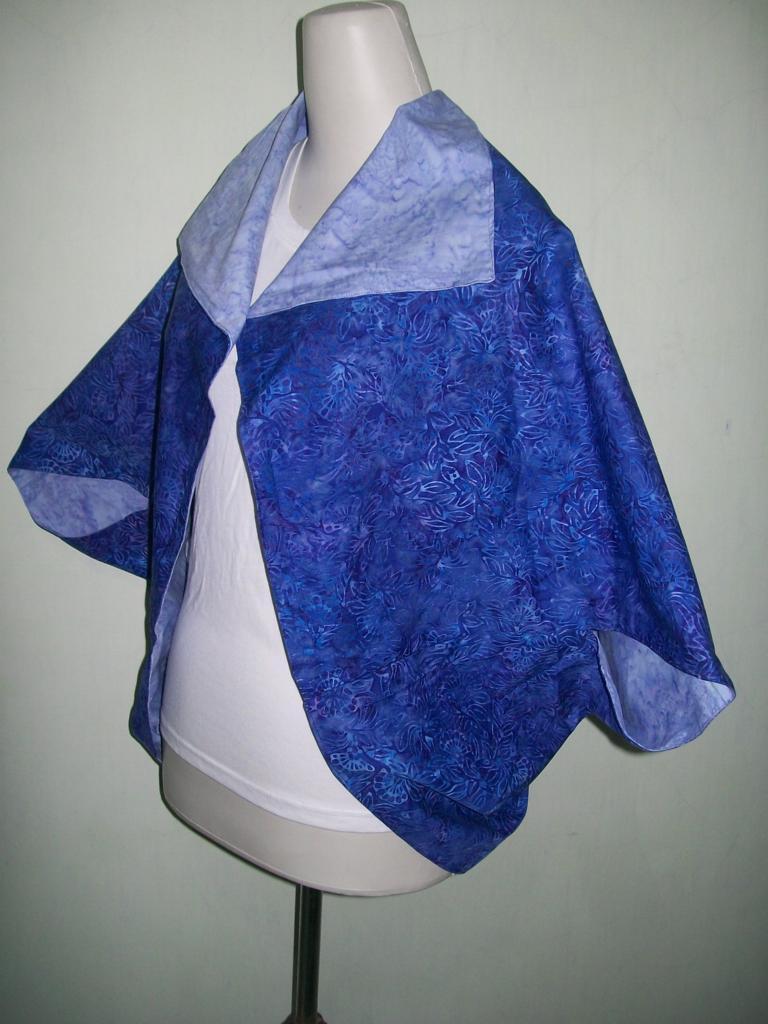 Bolero/Cardigan Batik Bolak Balik Modern Harga 100 Ribuan