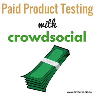 Paid Product Testing with Crowdsocial
