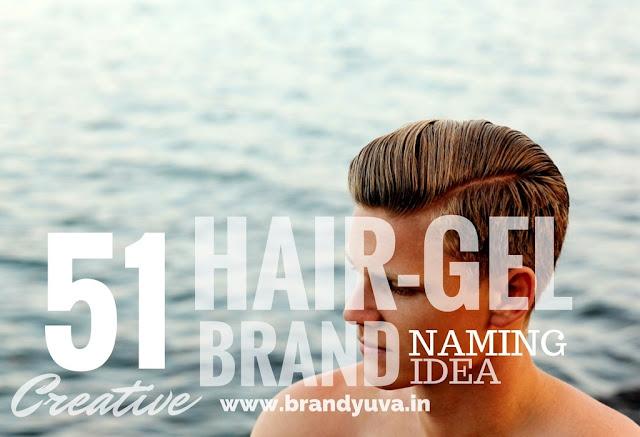 hair gel brand names idea