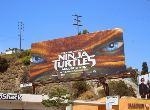 Teenage Mutant Ninja Turtles movie billboard
