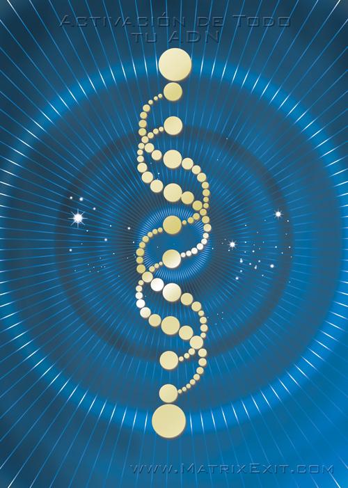 Resultado de imagen de Despertar tus códigos de creador en tu ADN ~