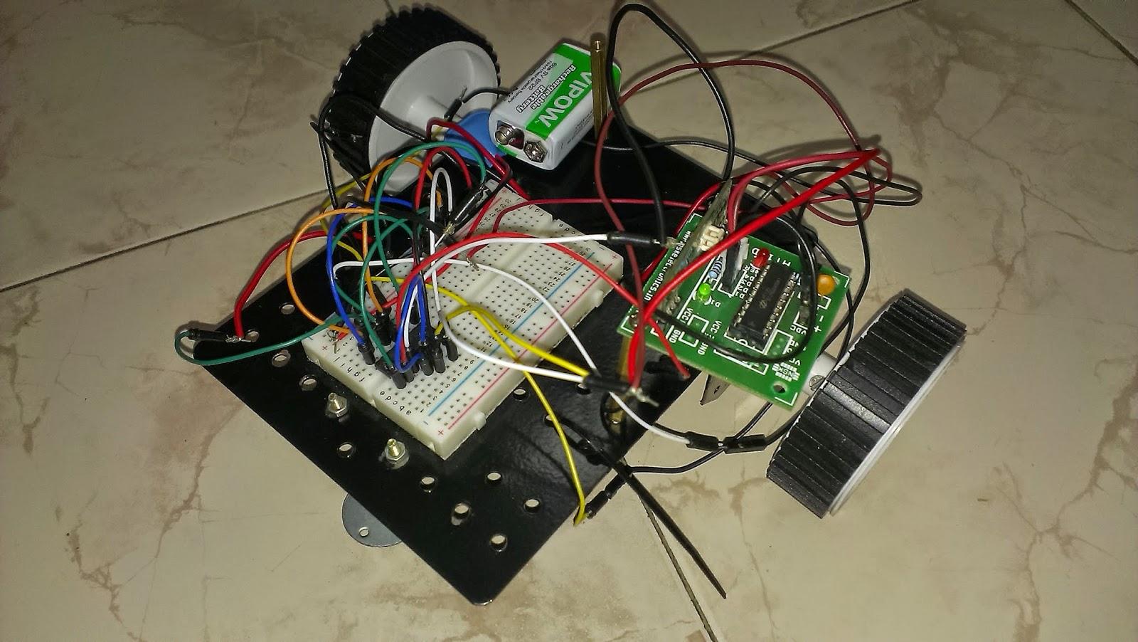 Wireless Motor Control Through Rf Circuit0