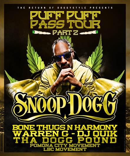 Colfax Avenue Snoop Dogg Coming To The Fillmore Auditorium