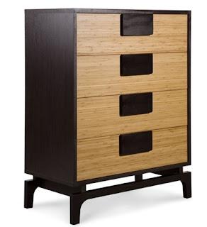 Drawer chest Kokeshi for modern bedroom furniture sets