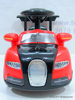2 Mobil Mainan Aki Doestoys DTV1 Bugatti Small