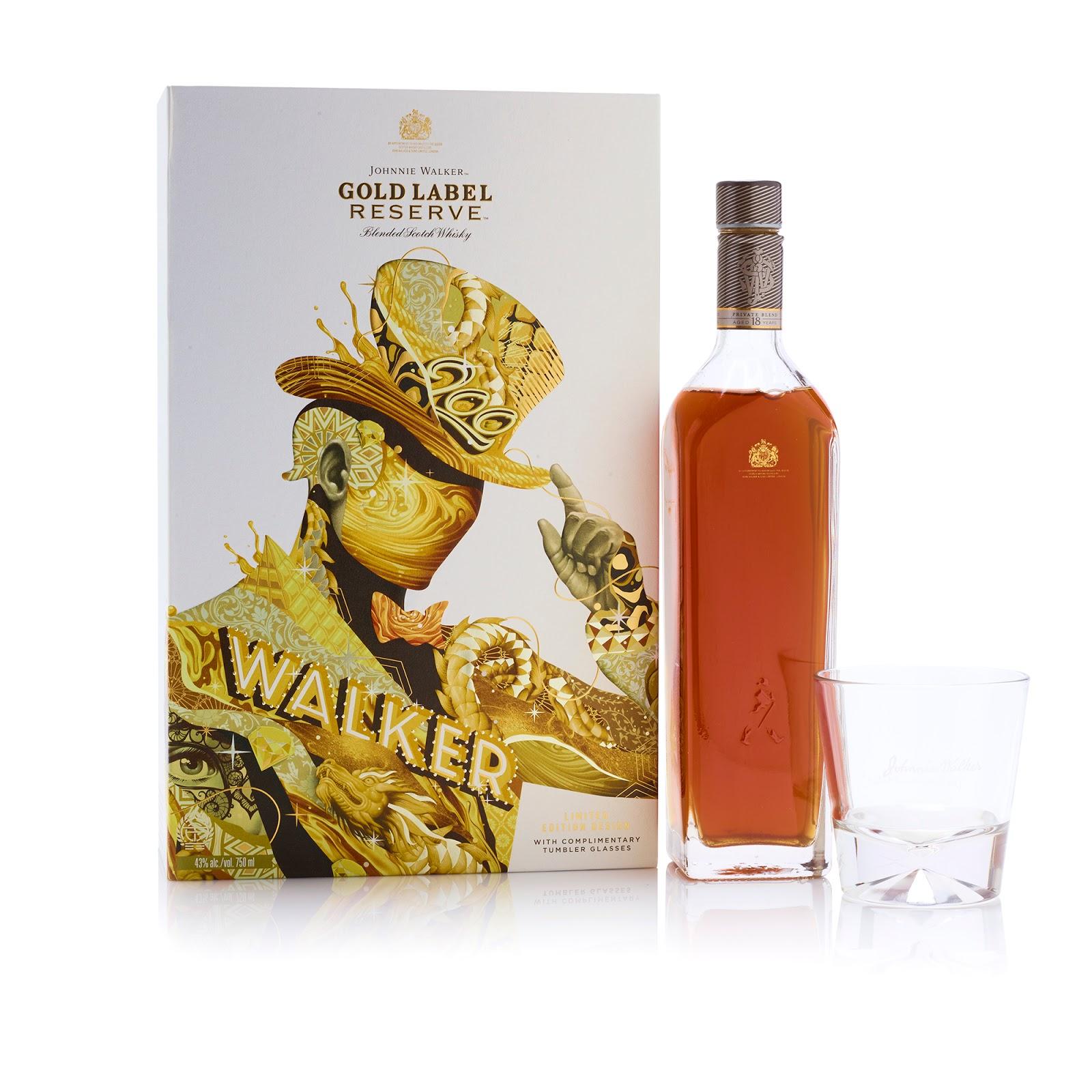 Johnnie Walker Gold Label Reserve Diageos Artist Series