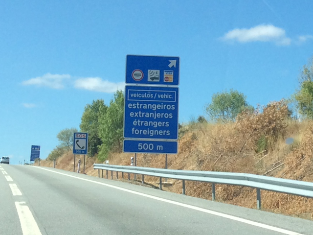 Toll roads in Portugal