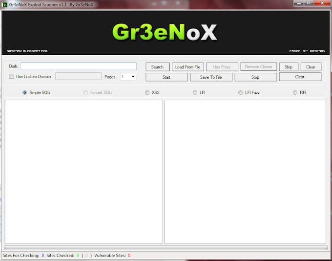 Grenox Exploit Scanner v1.1