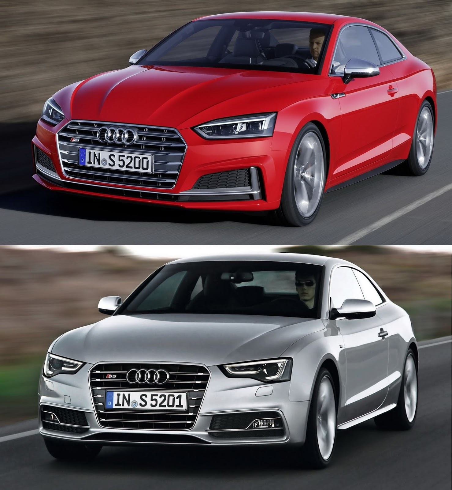 New Audi A5 And S5 Coupe Unveiled With Sleek Looks
