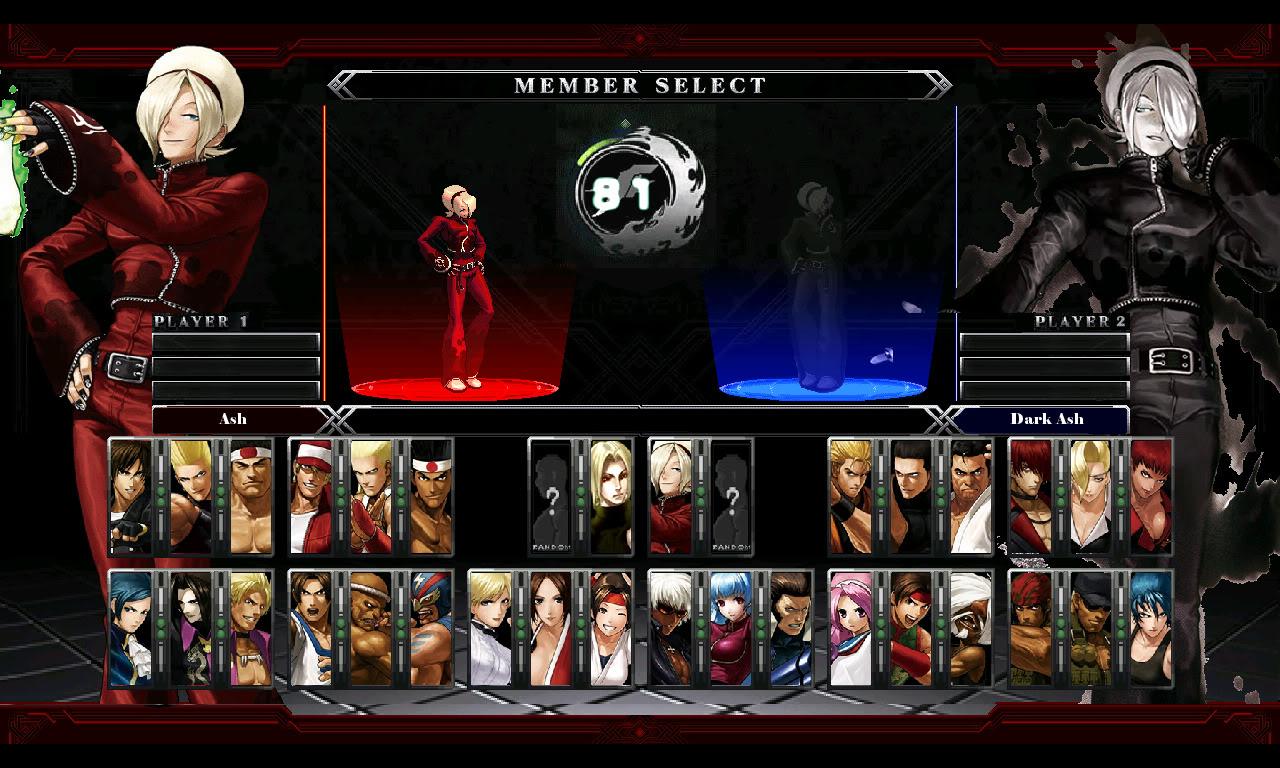 Kof mugen Characters Download