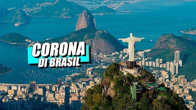 20 Ribu Kasus dan 1,000 Kematian Dalam 24 Jam, Brasil Jadi Negara Kedua dengan Kasus COVID-19 Tertinggi