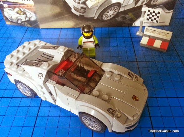 LEGO Porsche 918 Spyder 75910 Hybrid Supercar set review