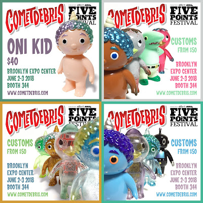 Cometdebris Five Points Festival 2018 Exclusives!