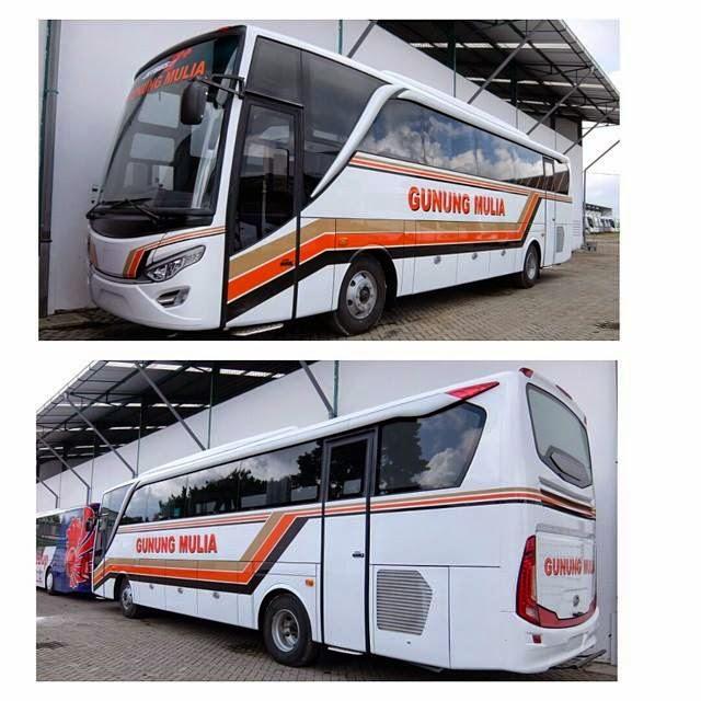 Bis Gunung Mulya dengan Mesin ddari Isuzu membuat Kagum para Pengamat bis mania