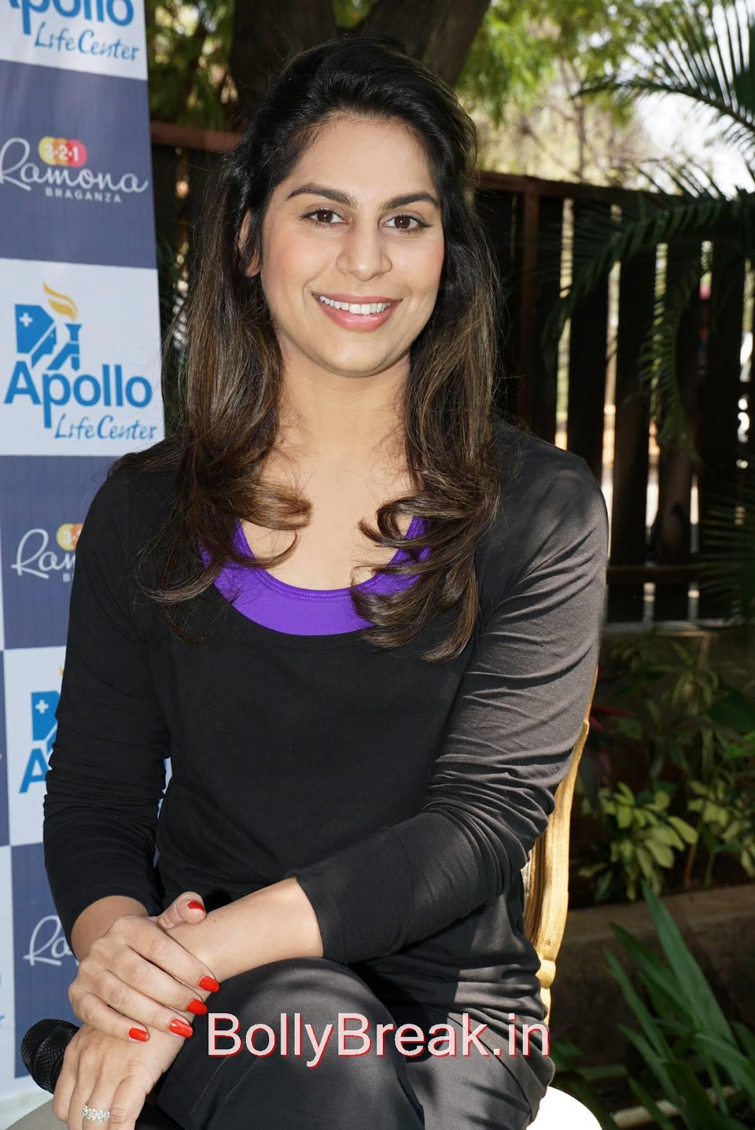 Hollywood Fitness Expert At Apollo Hospitals, Hot HD Images Of Upasana Stills With Hollywood Fitness Expert At Apollo Hospitals