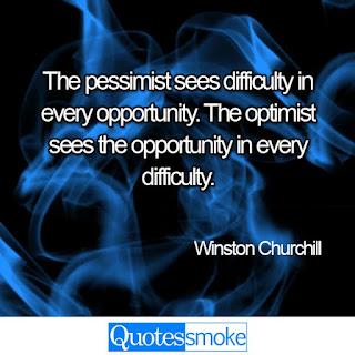 Winston Churchill positive quote