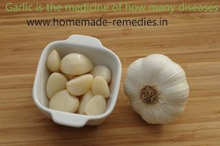 Garlic is the medicine