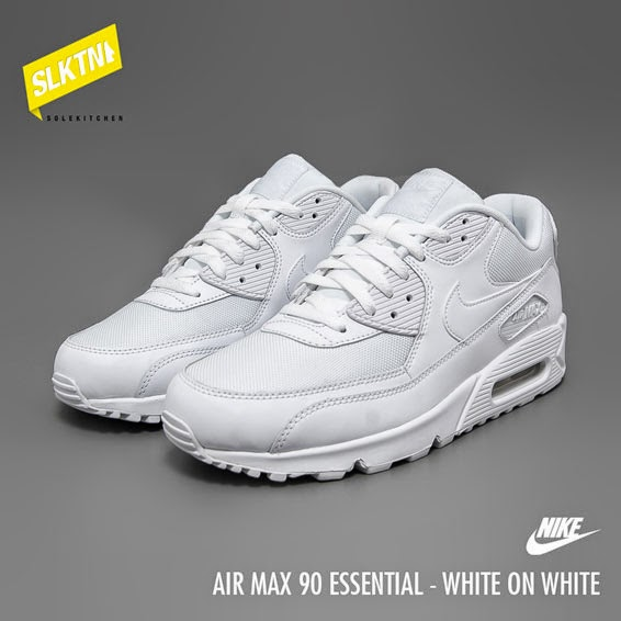 solekitchen nike air max 90 essential white white. Black Bedroom Furniture Sets. Home Design Ideas