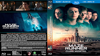 CARATULA MAZE RUNNER: The Death Cure cura mortal - MAZE RUNNER: La Cura Mortal - 2018