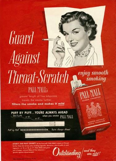 Сигареты с фильтром, история сигарет