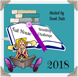 Full House 2018 Reading Challenge badge