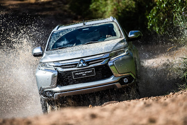 Mitsubishi test-drive off-road Vila Olímpia - Pajero Sport