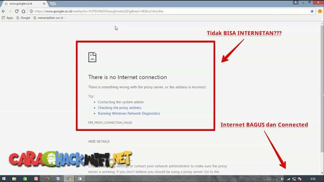 Internet Bagus Tidak Bisa Internetan atau Browsing