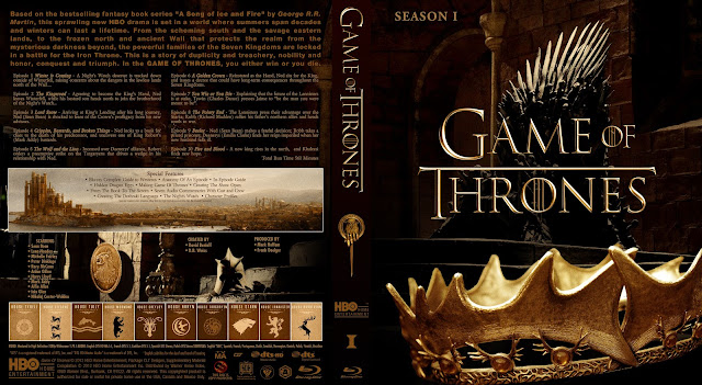 Capa Bluray Game Of Thrones Primeira Temporada Completa