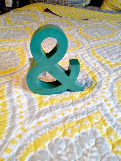 Ampersand Yellow Symbol