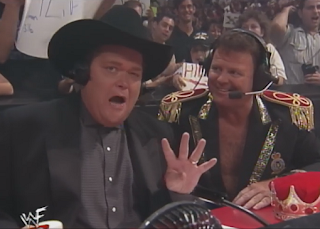 WWE / WWF Summerslam 1998 - Jim Ross and Jerry Lawler called the action