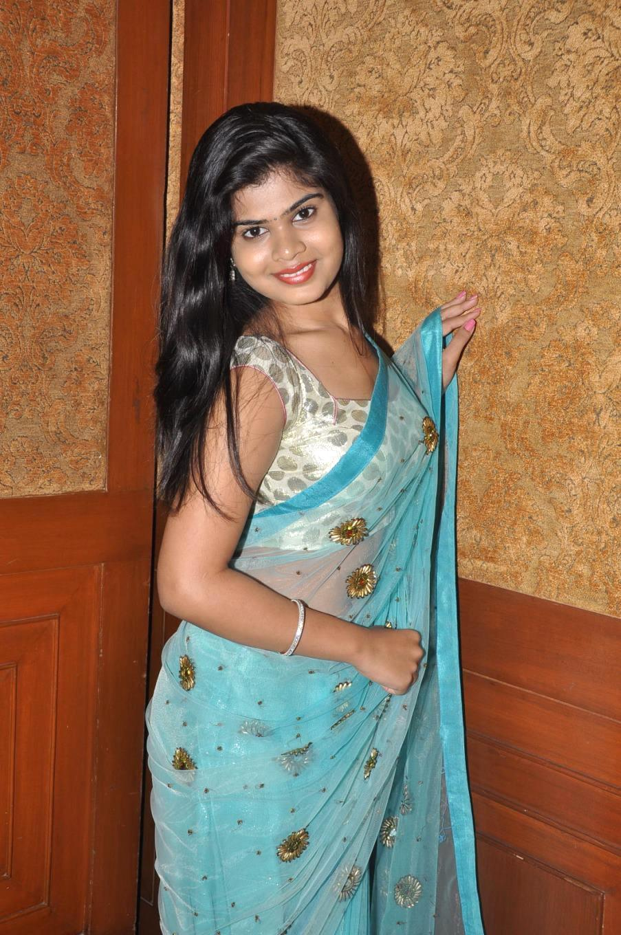 Actress alekhya new photos in saree