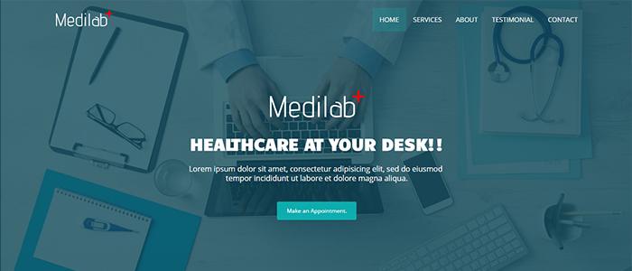 template-medilab-blogger
