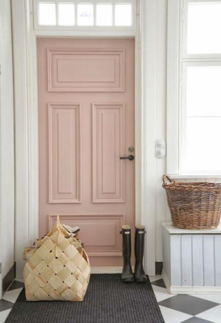 Beautiful door inspiration for home design seen on Hello Lovely Studio